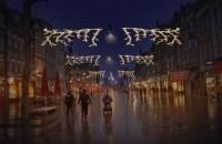 Feestverlichting in hele Nijmeegse binnenstad tijdens donkere dagen