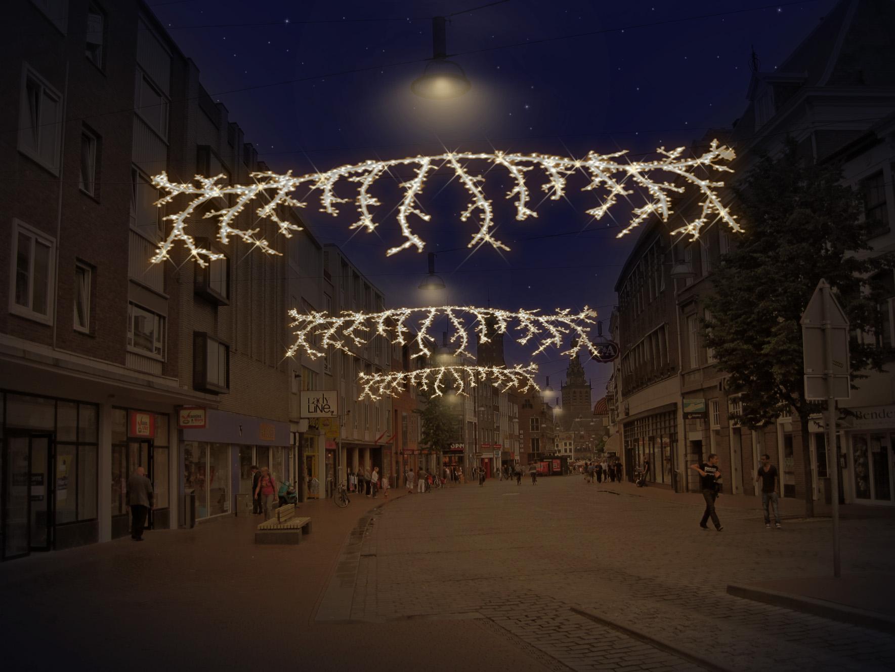 Burchtstraat Lighting Tree